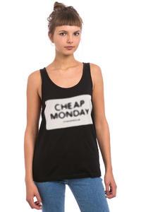 Cheap Monday Front Nuclear Logo Tank-Top women (black)