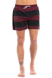 Forvert Korfu Boardshorts (burgundy black)