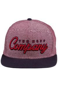 Neff The Company Snapback Cap (red navy)