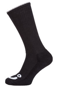 Polar Skateboards Happy Sad Socks US 7-9 (black)