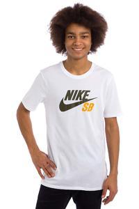 Nike SB Icon Reflective T-Shirt (white white white cargo khaki)