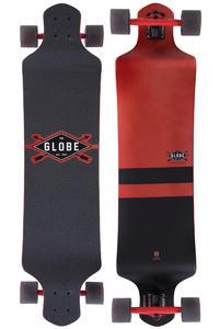 "Globe Geminon Drop-Down 41"" (104cm) Complete-Longboard (red black)"
