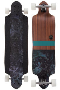 "Globe Geminon Micro-Drop 37.5"" (95cm) Komplett-Longboard (rosewood black)"