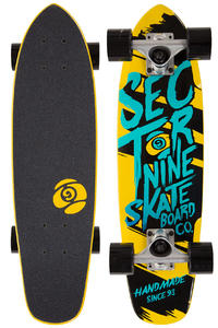 "Sector 9 Steady 25.6"" (64cm) Cruiser (yellow)"