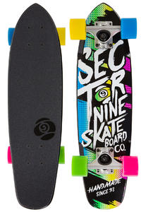 "Sector 9 Steady 25.6"" (64cm) Cruiser (black)"