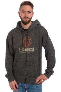 Element Vertical Zip-Hoodie (charcoal heather)