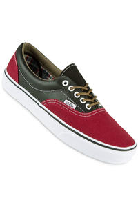 Vans Era Leather Schuh (rhubarb black)