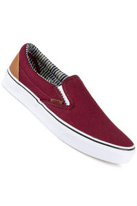 Vans Classic Slip-On Schuh (port royale stripe denim)