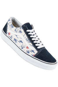 Vans Old Skool Shoe (hula dress blues true white)