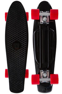 "SK8DLX Asphalt 22"" Cruiser (black red)"