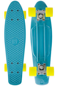 "SK8DLX Asphalt 22"" Cruiser (pastel blue yellow)"