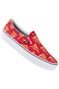 Vans Classic Slip-On Schuh (late night mars red pizza)