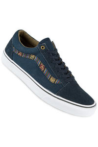 Vans Old Skool Shoe (indo pacific dress blues true white)