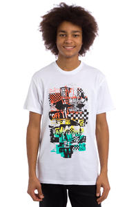 Vans OTW Checker Blaste T-Shirt (white orange)