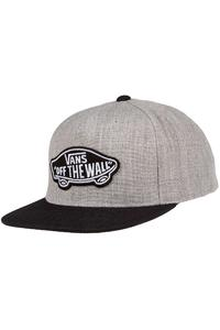 Vans Classic Patch Snapback Cap (heather grey black)