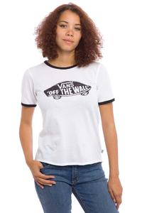 Vans Authentic Skate Ringer T-Shirt women (white black)