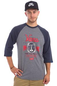 Vans Cold One Raglan 3/4 Longsleeve (heather grey navy)
