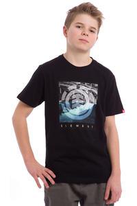 Element Flow T-Shirt kids (flint black)