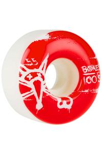 Bones 100's-OG #14 55mm Rollen (white) 4er Pack