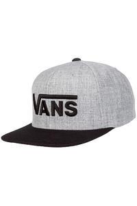 Vans Drop V Snapback Cap (heather grey black)