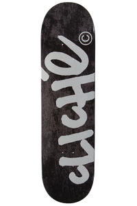 "Cliché Handwritten Classic 8.25"" Deck (black silver)"