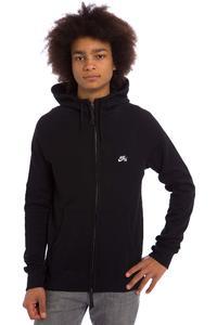 Nike SB Everett Graphic Zip-Hoodie (black black white)