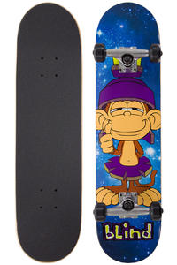 "Blind Space Looney 7.625"" Complete-Board (blue)"