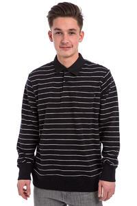 Obey Glassel Rugby Fleece Sweatshirt (black multi)