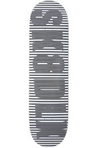 "SK8DLX Stripe Series 8.5"" Deck (white black)"