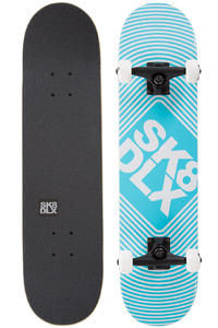 "SK8DLX Square Logo 7.5"" Komplettboard (heather blue)"