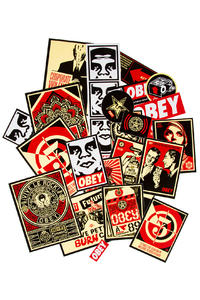 Obey Assorted Sticker Pack