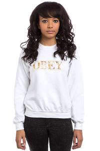 Obey Color Theory Logo Sweatshirt women (white)