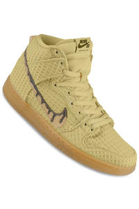 Nike SB Dunk High Premium Shoe (flat star gold classic brown)