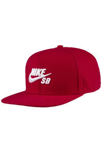 Nike SB Icon Snapback Cap (gym red)