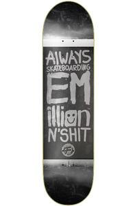 "EMillion Always Skateboarding Vintage Fibertech 8.5"" Deck (black)"