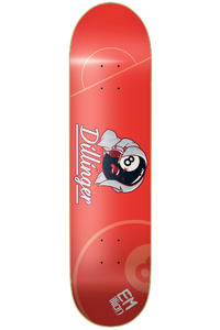 "EMillion Pro Club Dillinger 8.125"" Deck (red)"