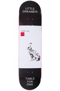 "Chocolate Hsu Solitary Animals 8"" Deck (black white)"