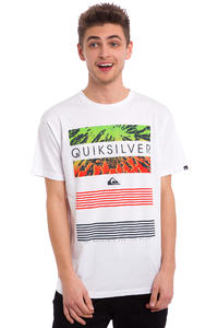 Quiksilver Classic Line Up T-Shirt (white)