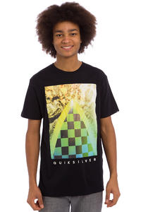 Quiksilver Classic Checker Channel T-Shirt (black)