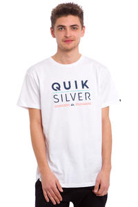 Quiksilver Classic Fully Stacked T-Shirt (white)