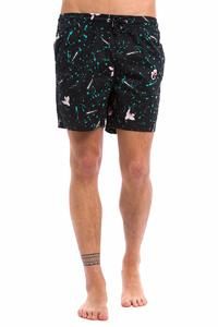 """Quiksilver Ghetto Aceid 16"""" Boardshorts (sweet and sour black)"""