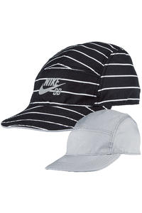 Nike SB Reversible 5 Panel Cap (wolf grey black)