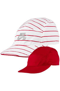 Nike SB Reversible 5 Panel Cap (gym red white)