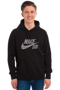 Nike SB Icon Pullover Stripe Hoodie (black white)