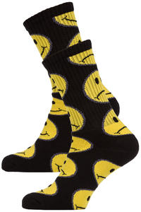 HUF Have A Bi Polar Day Socks US 8-12 (black)