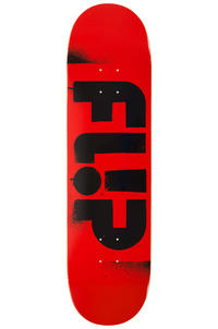"Flip Team Odyssey Stencil 8.125"" Deck (red black)"