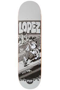 """Flip Lopez Comix 8.25"""" Deck (turquoise)"""