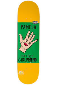 "Jart Skateboards Conflictive Pamela 8.25"" Deck (yellow)"