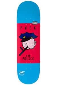 """Jart Skateboards Conflictive Police 8.75"""" Deck (blue red)"""