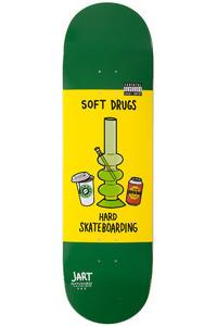 "Jart Skateboards Conflictive Drugs 9"" Deck (green yellow)"